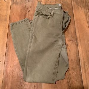 FP Army Green Jeans